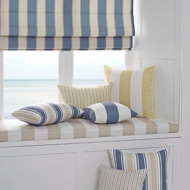 Coastal Style window seat
