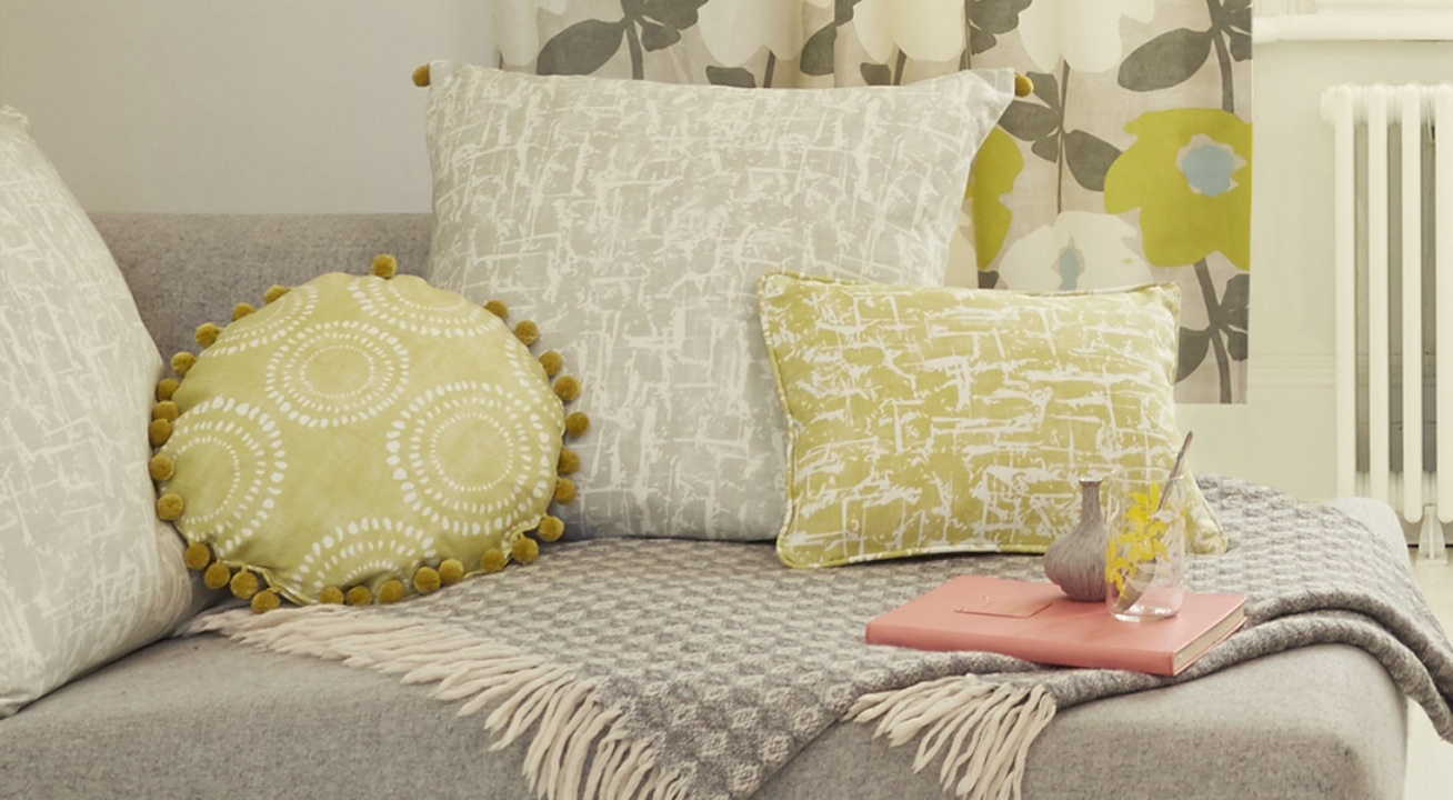 James Dunlop fabrics for interior styling