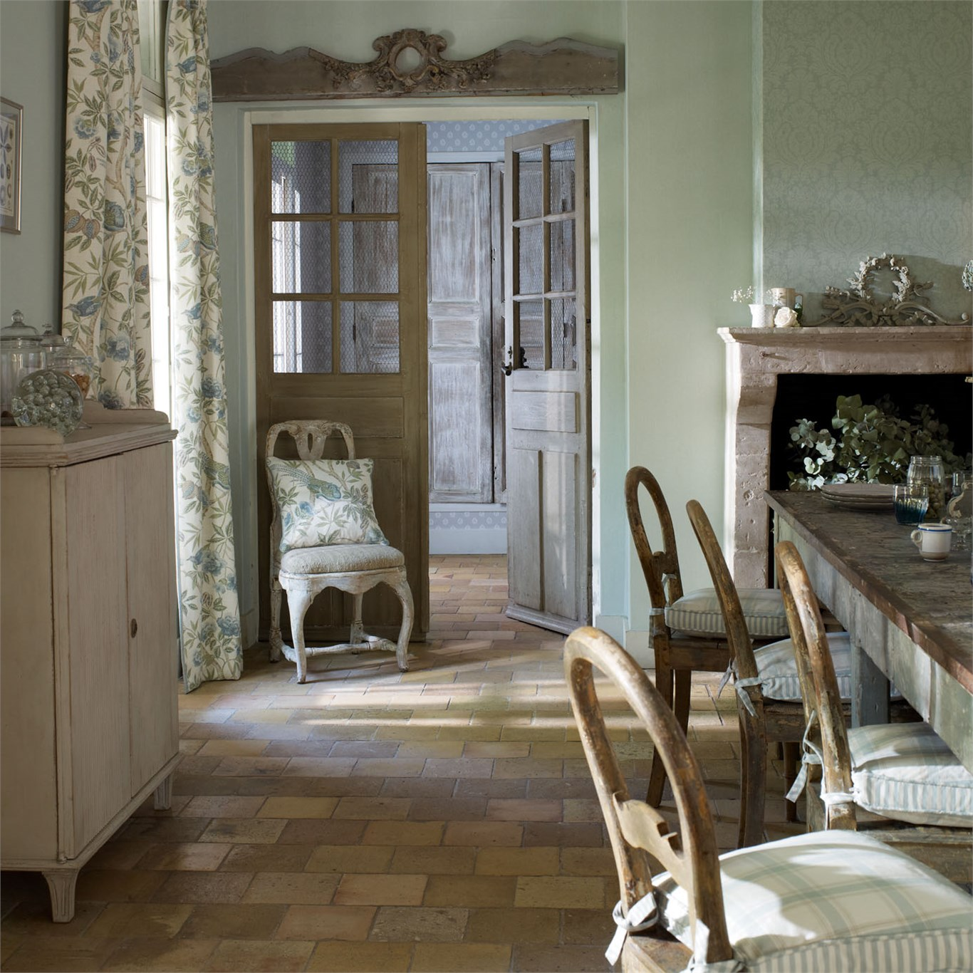 How to achieve a shabby look