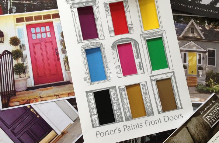 Colourful Front Doors – What they say about you!