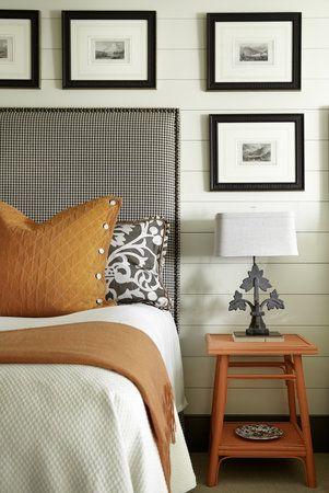 How to use orange in interiors