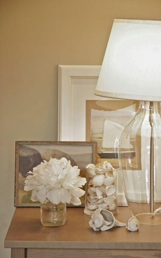 A Coastal Style Vignette - 5 steps to achieve this