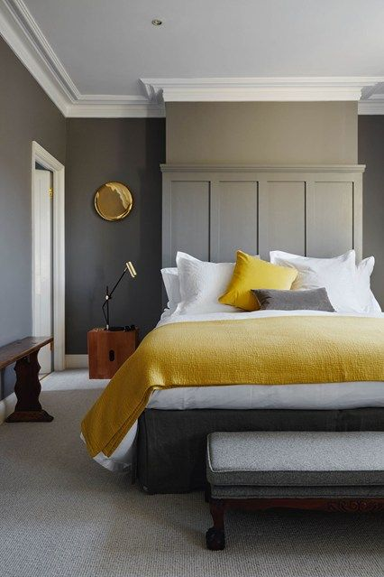 How to use yellow and grey together