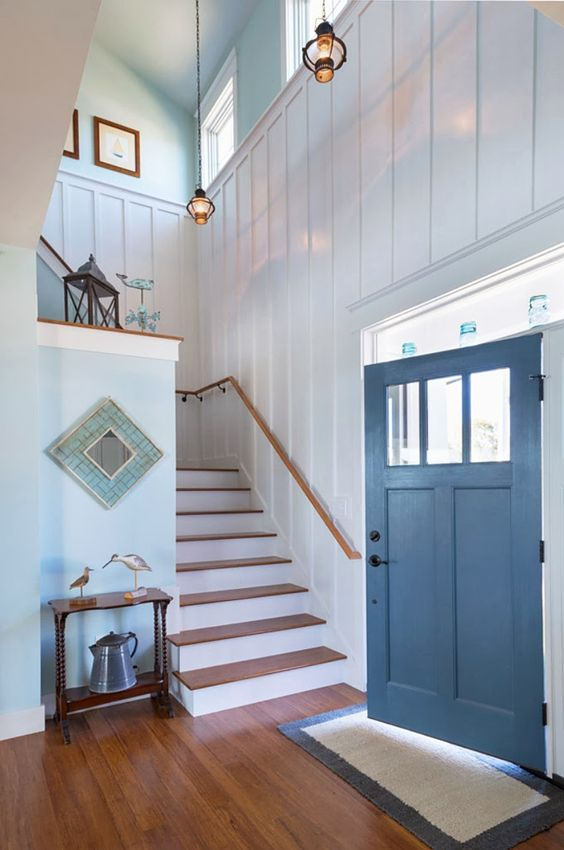 What should you paint the inside of your front door?