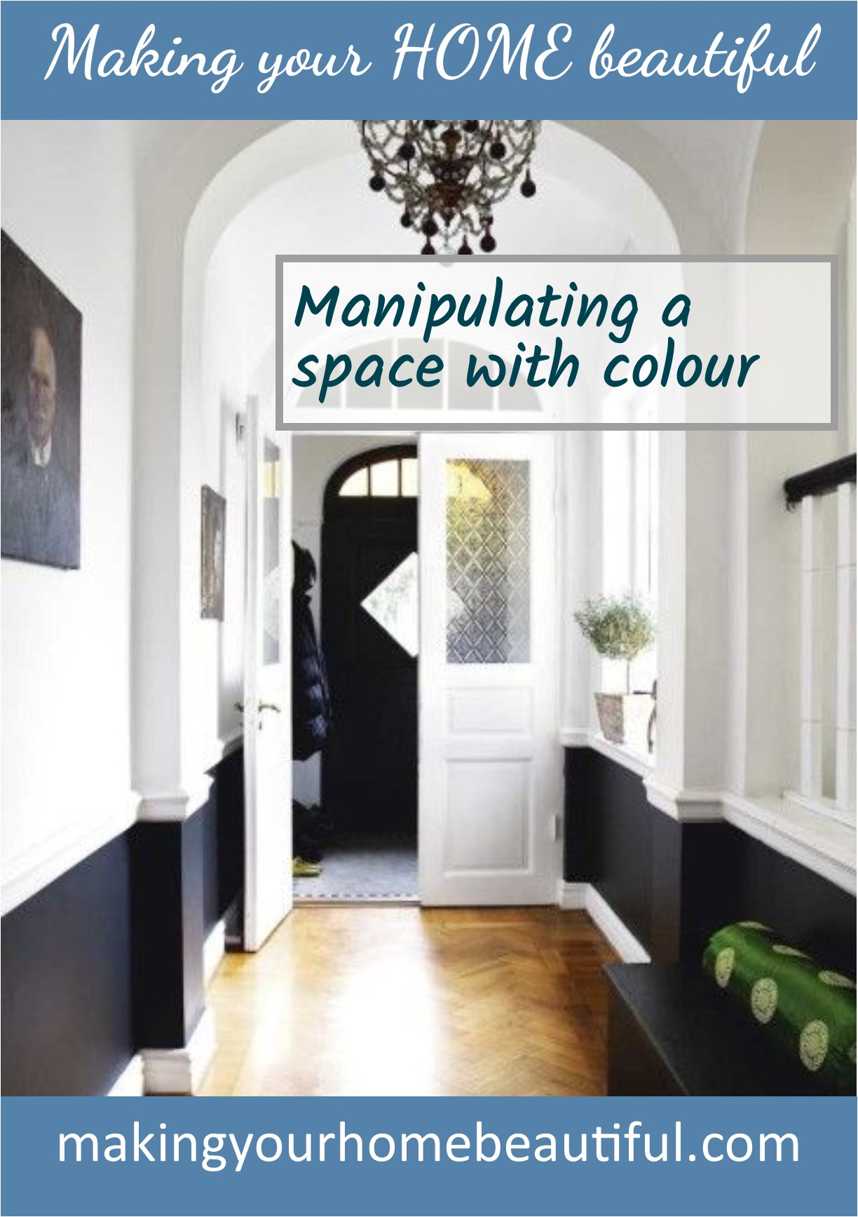 Manipulating a space with colour - colour lesson 5
