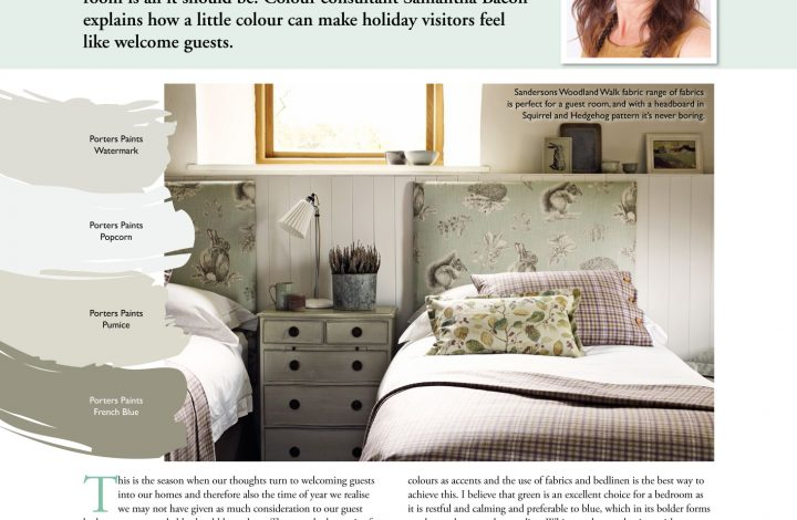 Country Home Ideas – Guest Bedrooms