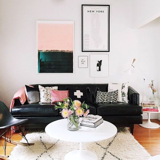 Let me show you how to use Pink, Black and White