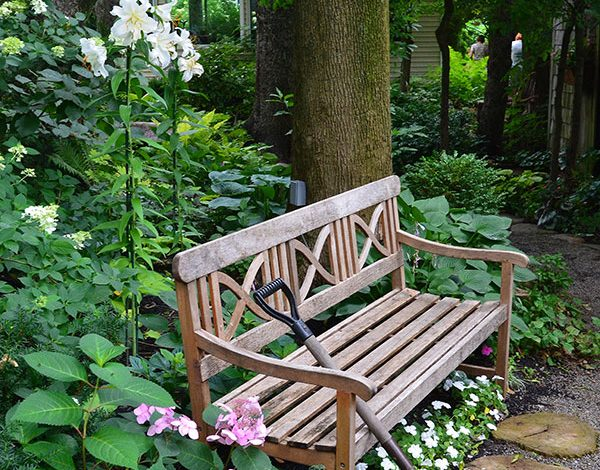 The Humble Garden Bench – my favourites