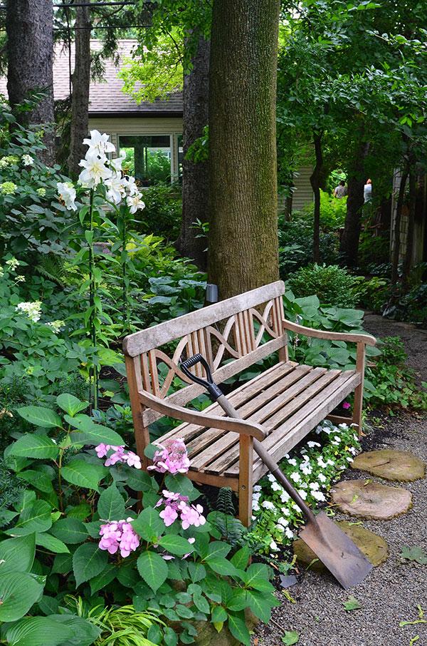 The Humble Garden Bench