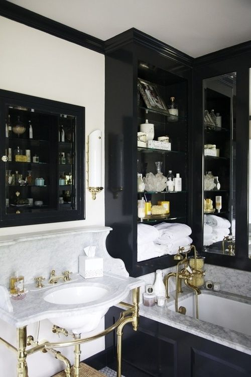 Black And White Bathroom Accessories Anthrinkarts Com