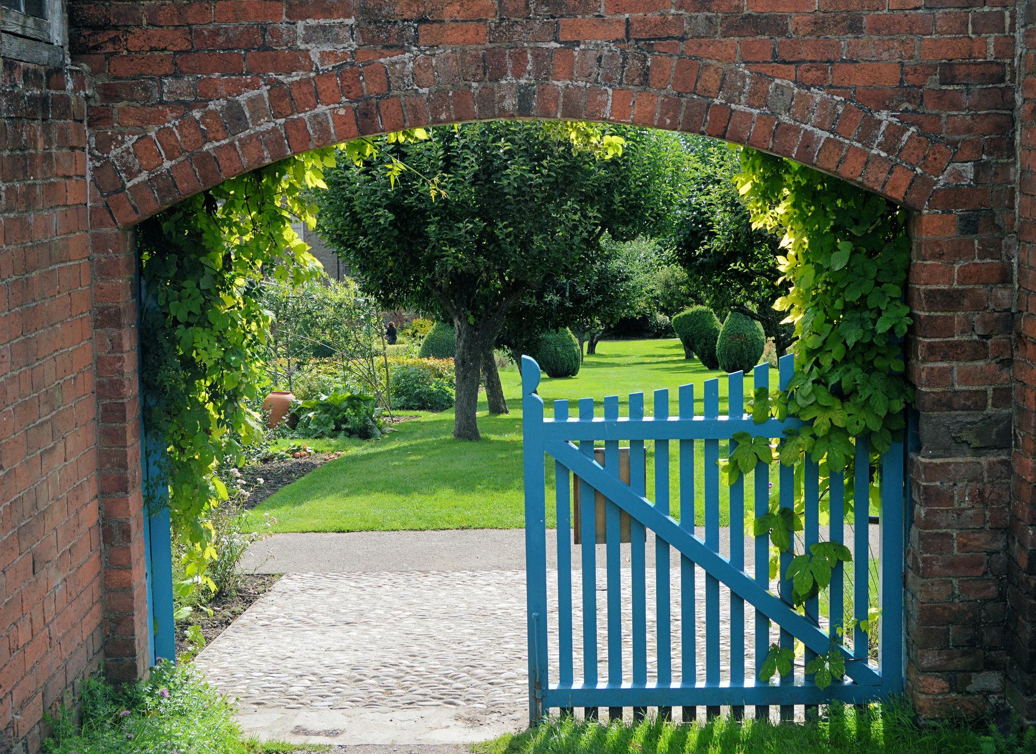 Blue Garden Gate