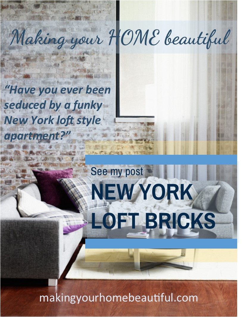 How to achieve an aged look for bricks for a New York Loft Style