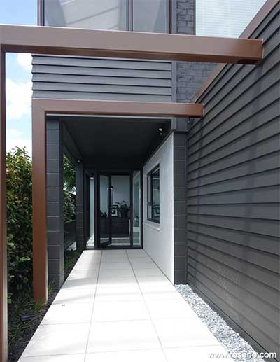 Using black on a house exterior
