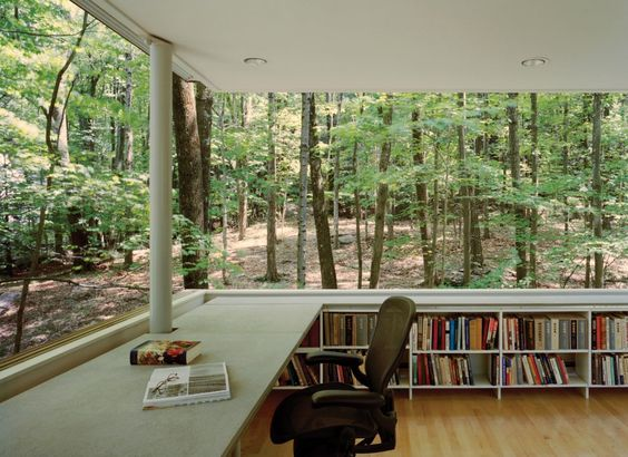 How to find a place to write