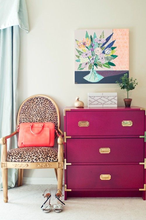 Let me show you how to use Pink in an interior scheme. Often reserved for children's bedrooms, pink can make a fabulous decorating statement - click through to see more