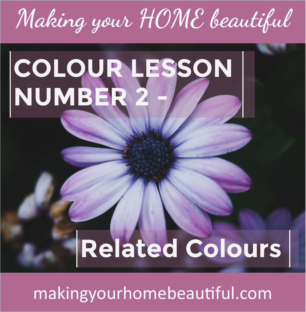 Let me show you how to choose colours, lesson 2