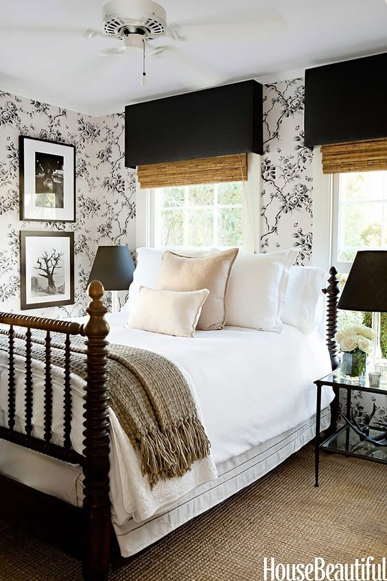 Monochromatic colour schemes - how to use black and white