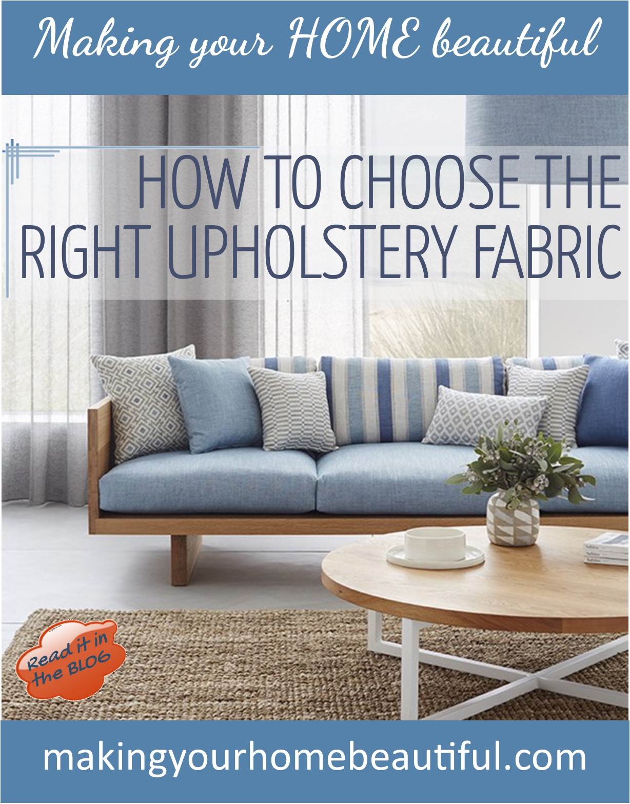 How to find the right upholstery fabric