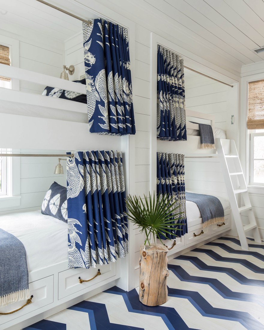 How to style a holiday house spare bedroom