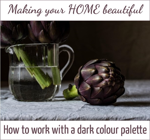 How to work with a dark colour palette