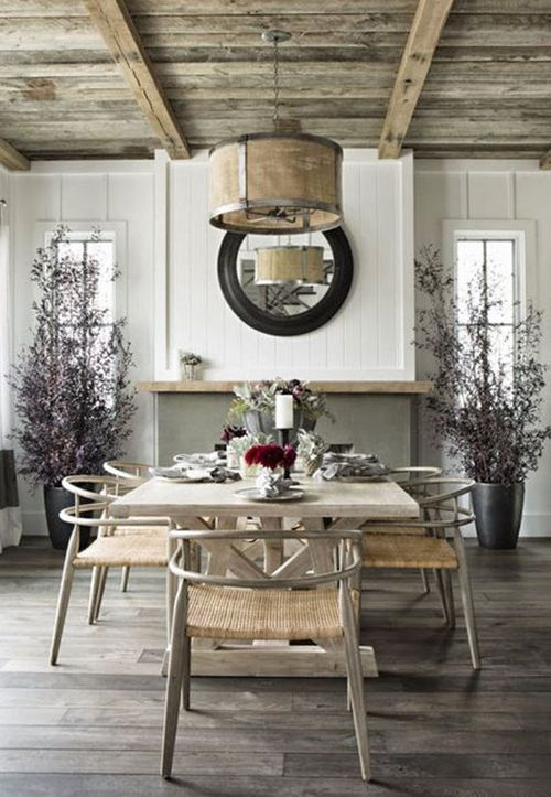 Country Home Ideas - Country Style Dining